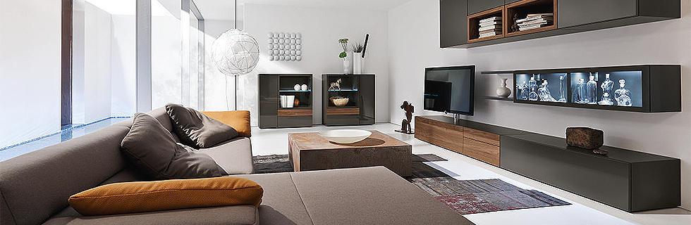 Klar U0026 Elegant: Richten Sie Ihr Wohnzimmer Mit HÜLSTA Ein