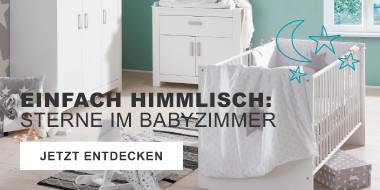 Baby-Themenzimmer Sterne