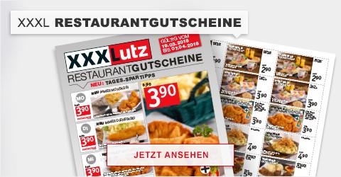 XXXL Restaurantgutscheine
