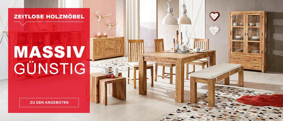 Zeitlose Holzmöbel massiv günstig