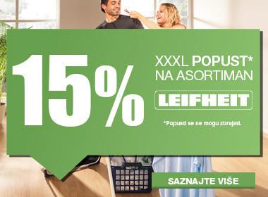 popust Leifheit 15%