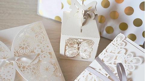 Hochzeitstisch Geschenke
