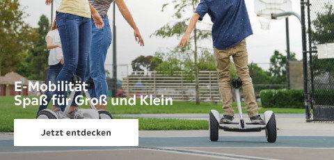 E-Mobilität: Spaß für groß und klein