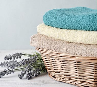 Handtücher fürs Wellness Badezimmer