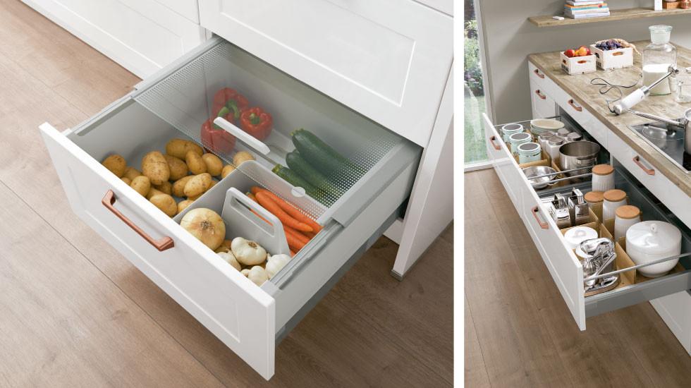 Innovative Stauraumlösungen Für Die Küche Xxxlutz