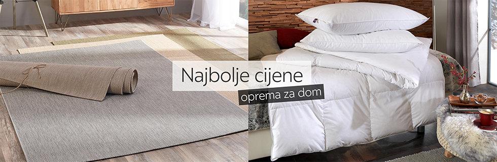Kvalitetan tepih i ugodan poplun Lesnina XXXL