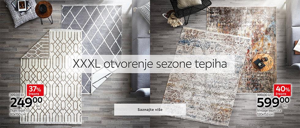 Kvalitetni tepisi u izvrsnoj ponudi Lesnine XXXL