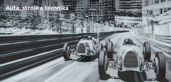 Obrazy aut, strojů a techniky