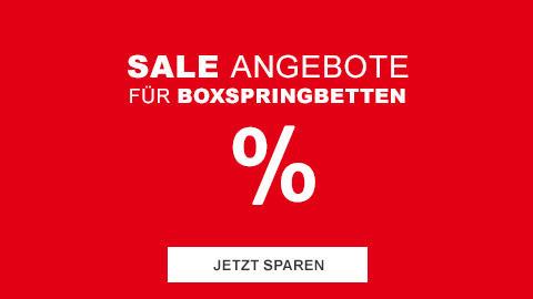 Sale Boxspringbetten