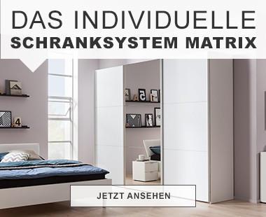 Das Individuelle Schranksystem Matrix