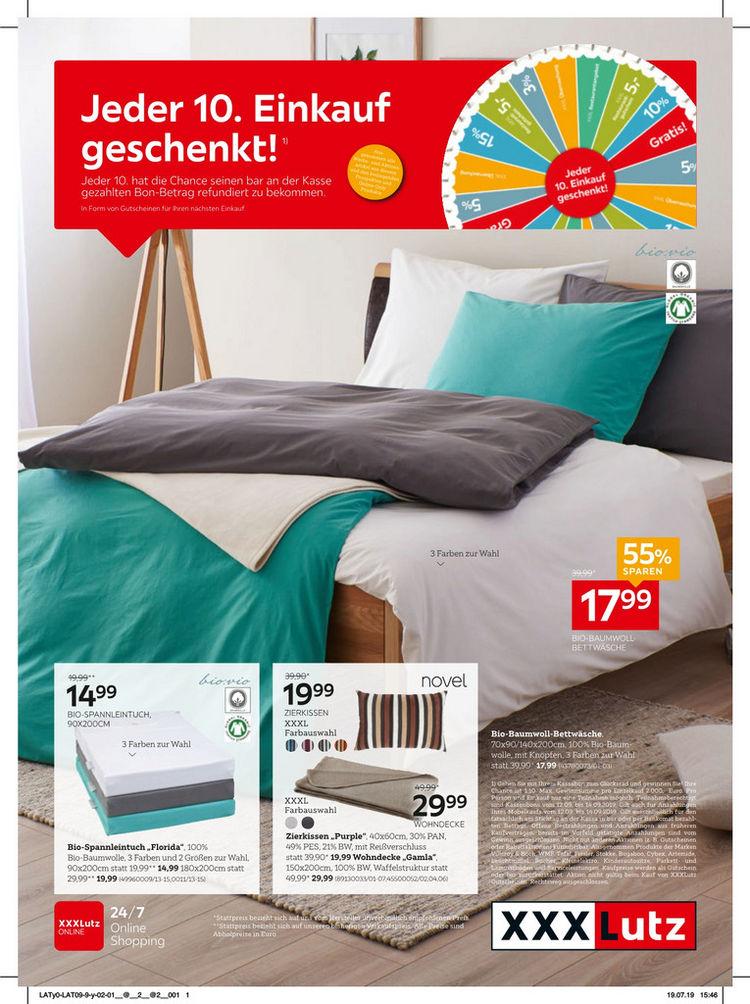 Heimtex Gutscheinblatt