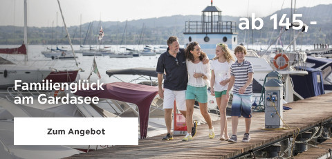 Familienglück am Gardasee ab 145 Euro