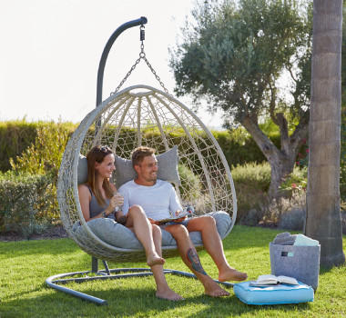 Online Only Gartenmöbel Hängeschaukel Sonneninsel