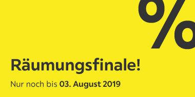 Räumungsfinale Nur noch bis zum 3.August