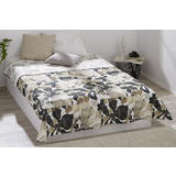 Prekrivač za krevet zemljanih boja