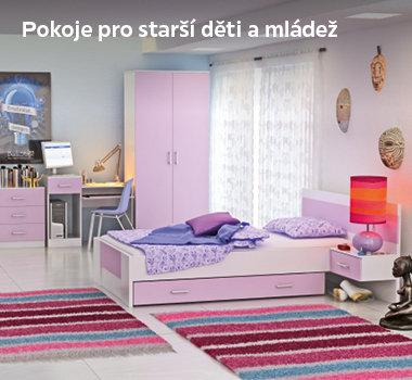 Pokoje pro děti a mládež