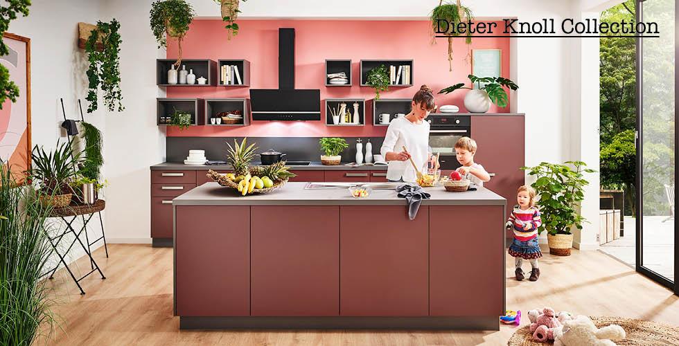 Ružičasta kuhinja Dieter Knoll
