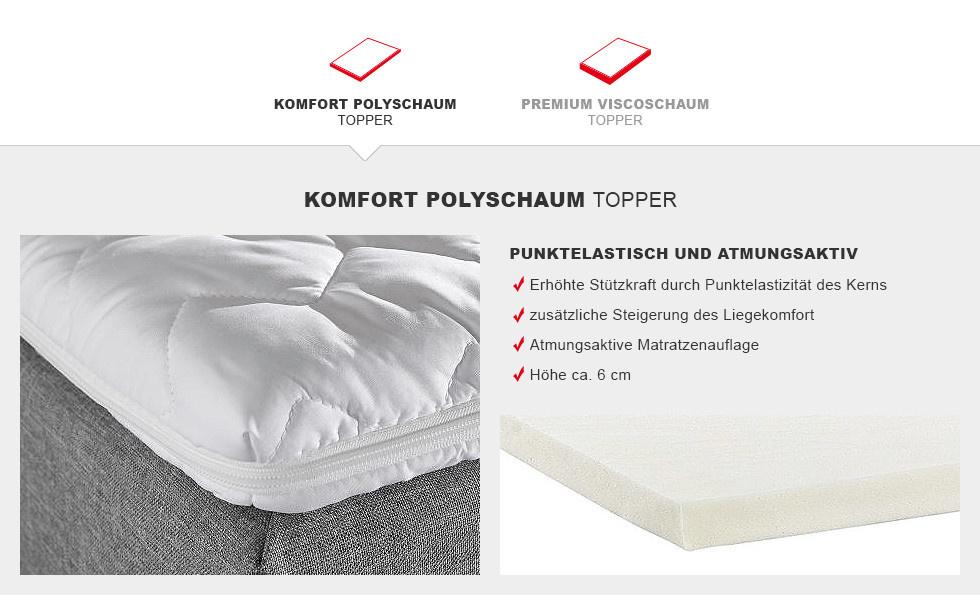 Boxspringbett Prinz Klassik Komfort