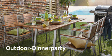Outdoor-Dinnerparty