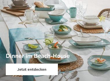 dinner im beach-house