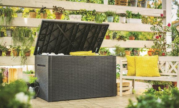 Stauraum Für Ihren Garten Werkzeugschränke Kissenboxen Und Vieles