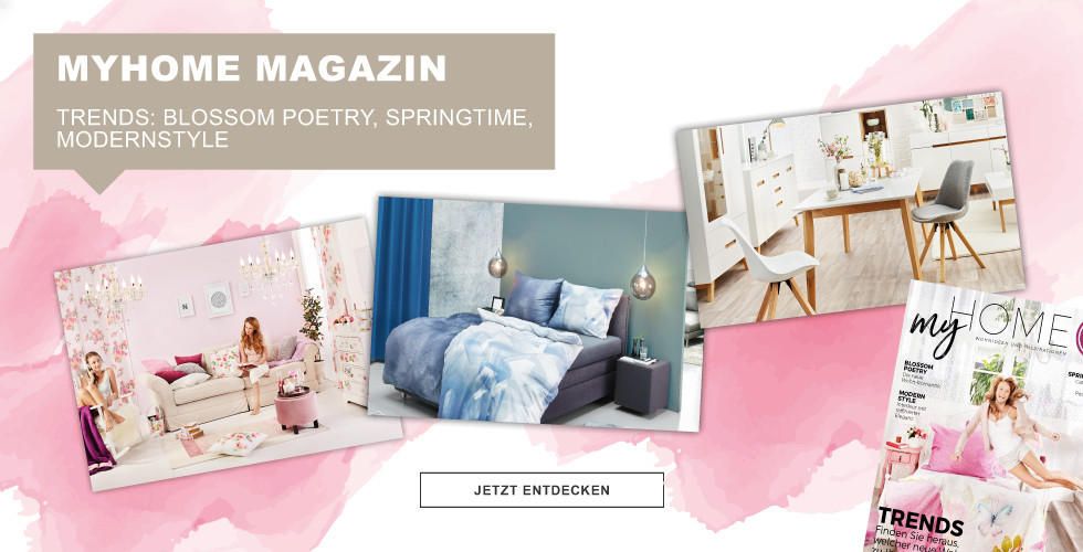 MyHome Magazin Trends: Blossom Poetry, Springtime, Modern Style