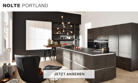 GroBartig Nolte Portland Küche Zement Anthrazit