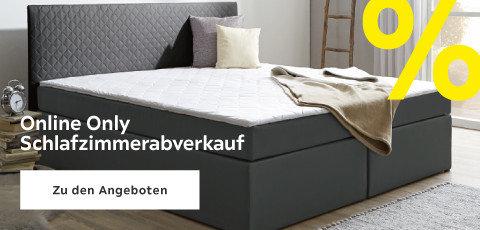 Online Only  Schlafzimmerabverkauf