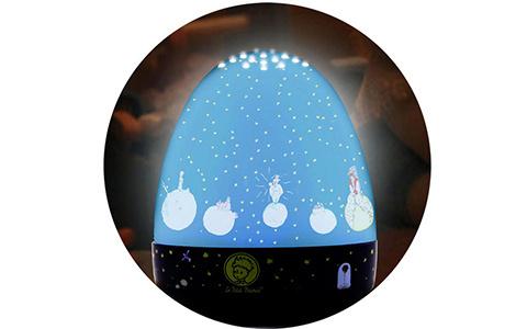 """Nachtlicht in blau mit """"der kleine Prinz"""""""
