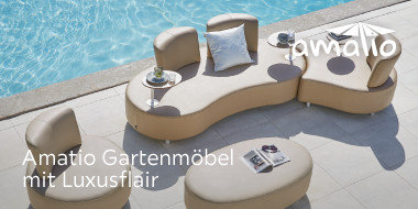 Amatio Gartenmöbel mit Luxusflair