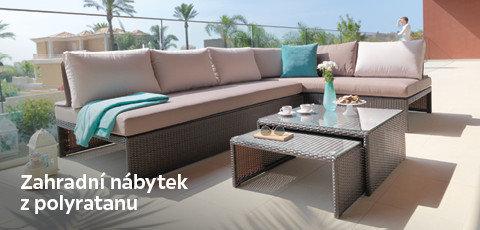 Zahradní nábytek z polyratanu