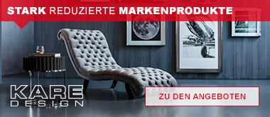 Kare Design - stark reduzierte Markenprodukte