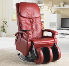 Hochwertiger Massagestuhl in Rot bei XXXLutz.