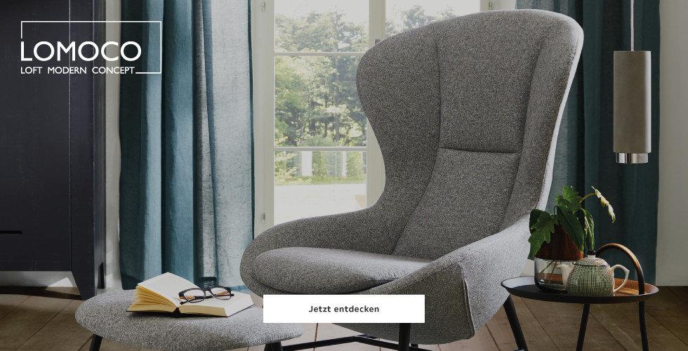 Neu bei XXXLutz:  Lomoco Loftige Design Möbel