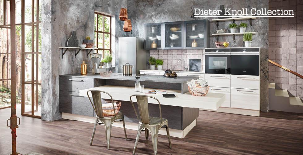 Bijelo siva DK kuhinja