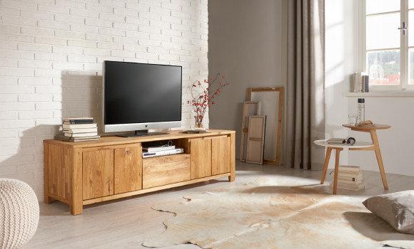 Massivholzmöbel TV Element