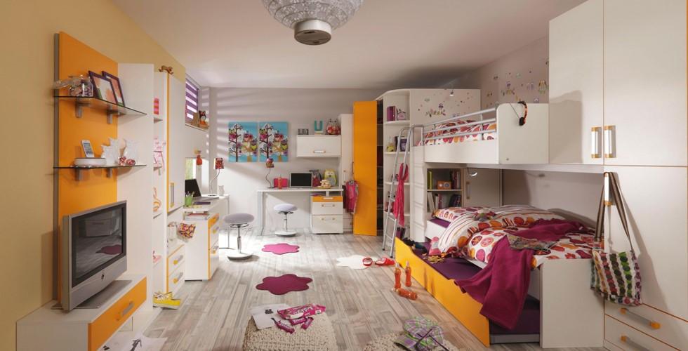 Bei XXXLutz finden Sie Kinder- und Jugendzimmer mit einer großen Farb- und Designauswahl.
