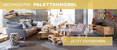 Wohnserie Palettenmöbel
