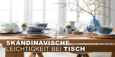 Skandinavische Leichtigkeit bei Tisch