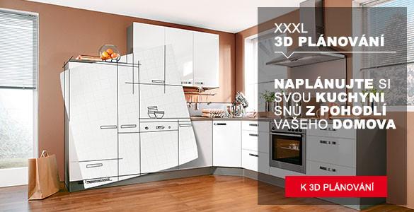 3D planovač kuchyní