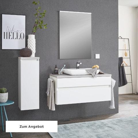 Badezimmerserien Weiß Spiegel