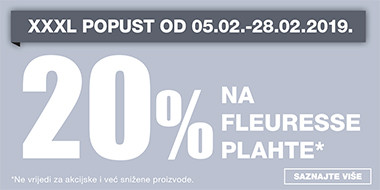 20% na Fleuresse plahte u Lesnini