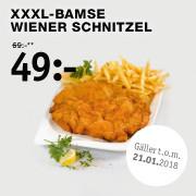 XXXL Bamse Wiener Schnitzel