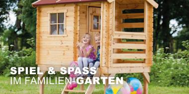 Spiel & Spaß  im Familien-Garten