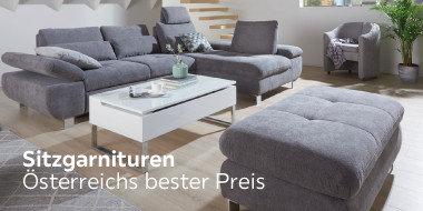 Sitzgarnituren  Österreichs bester Preis