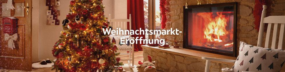Weihnachtsmarkt eröffnung