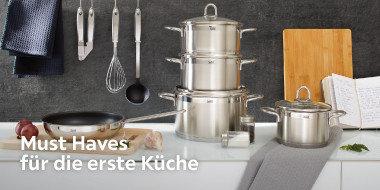 Must Haves für die erste Küche