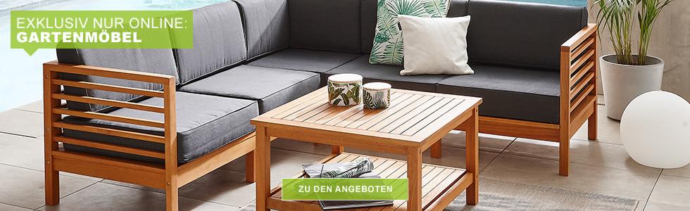 Exklusiv nur Online - Gartenmöbel