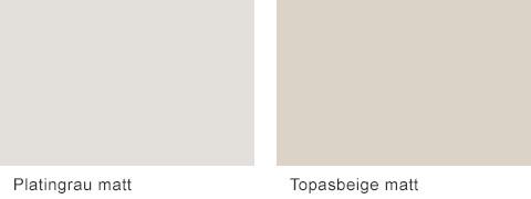 Set One by Musterring Elba Frontfarben Platingrau Topasbeige
