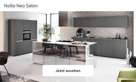 Nolte Neo Salon puristische Küche beige